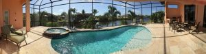 Cape Coral Luxury Waterfront Homes SW Florida for Sale - Cape Coral Beautiful Furnished Canal Front Villa for Sale